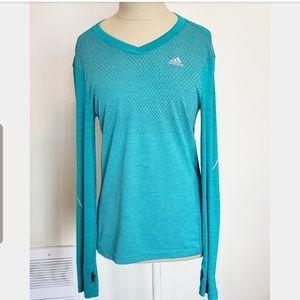 Adidas Climalite Long Sleeve Shirt